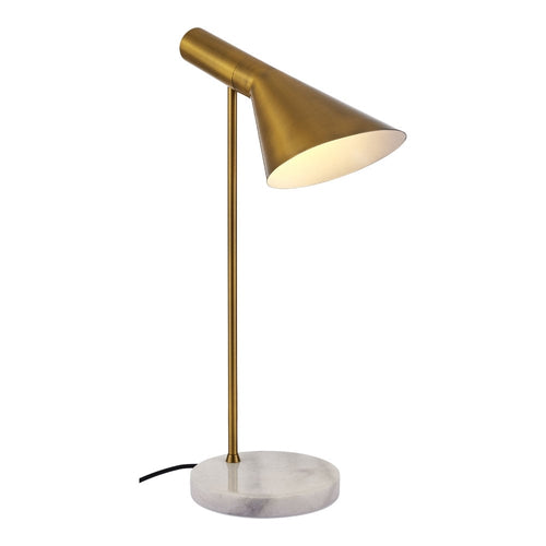 Gold Side Table Light