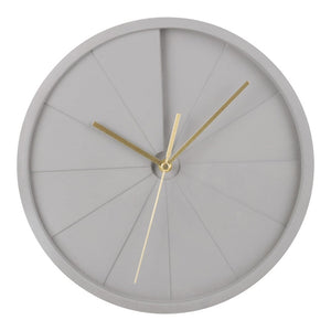 Luax Concrete Clock