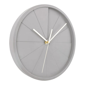 Side view of Luax Concrete Clock
