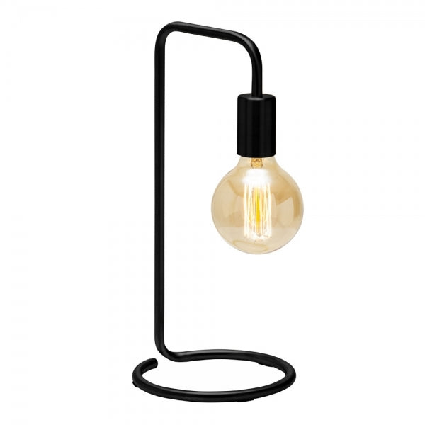 Piraso Black Metal Table Lamp