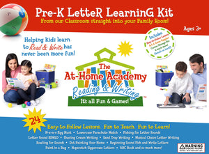 Pre-K Letter Learning Kit