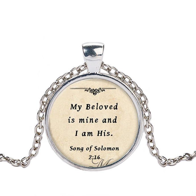 Bible Quote Necklace