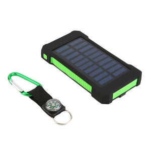 WATERPROOF SOLAR POWER BANK CHARGER