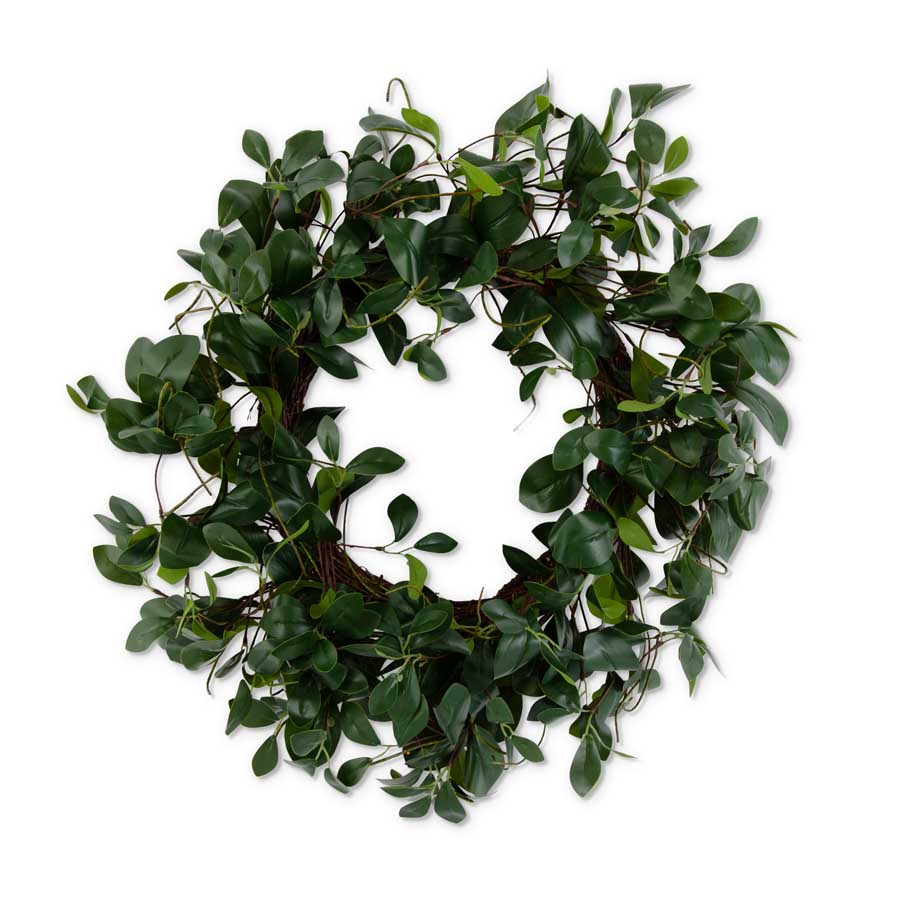 Rubber Plant Wreath
