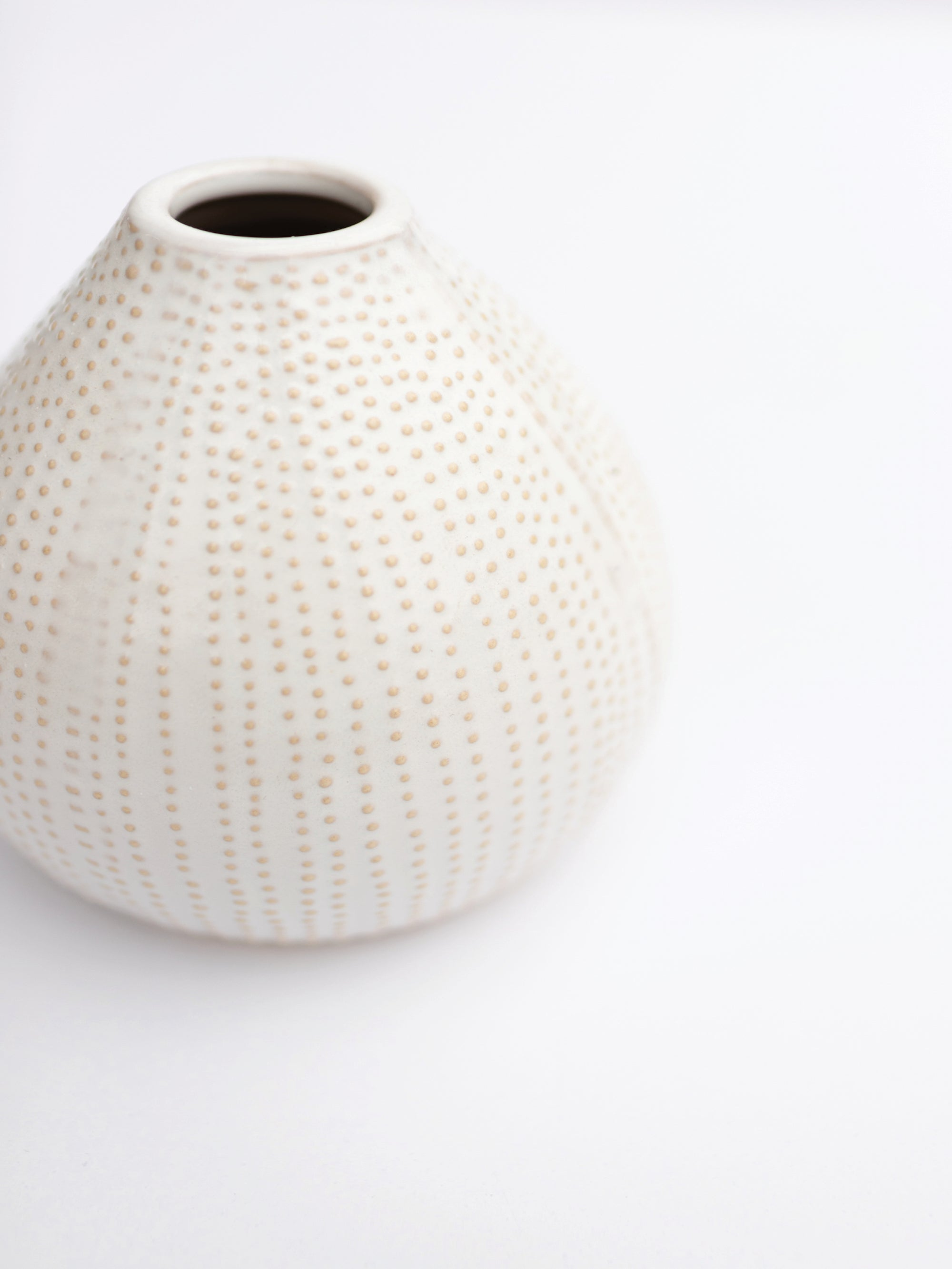 Dotted Urchin Vase
