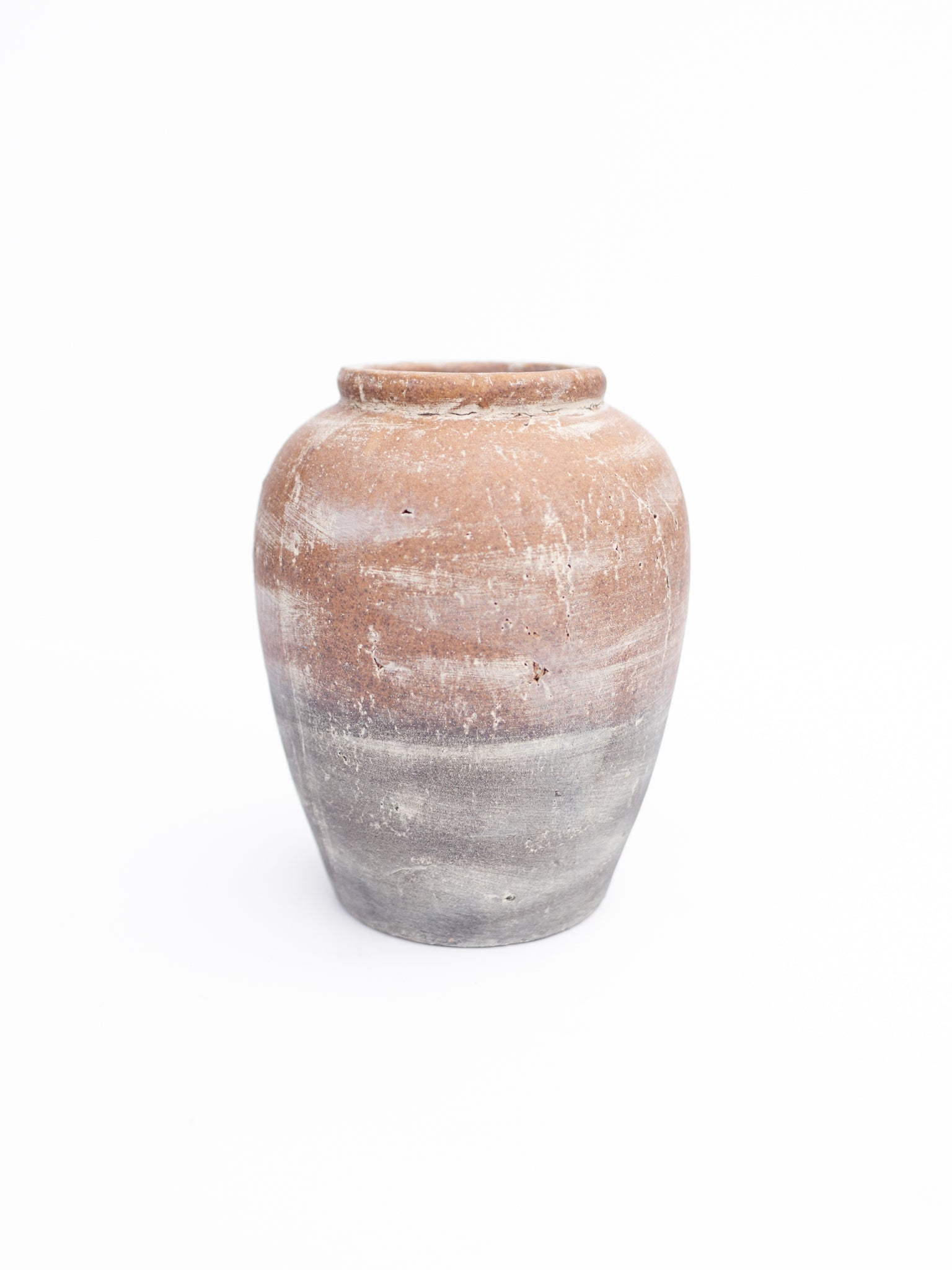 Ceramic Two-Toned Urn