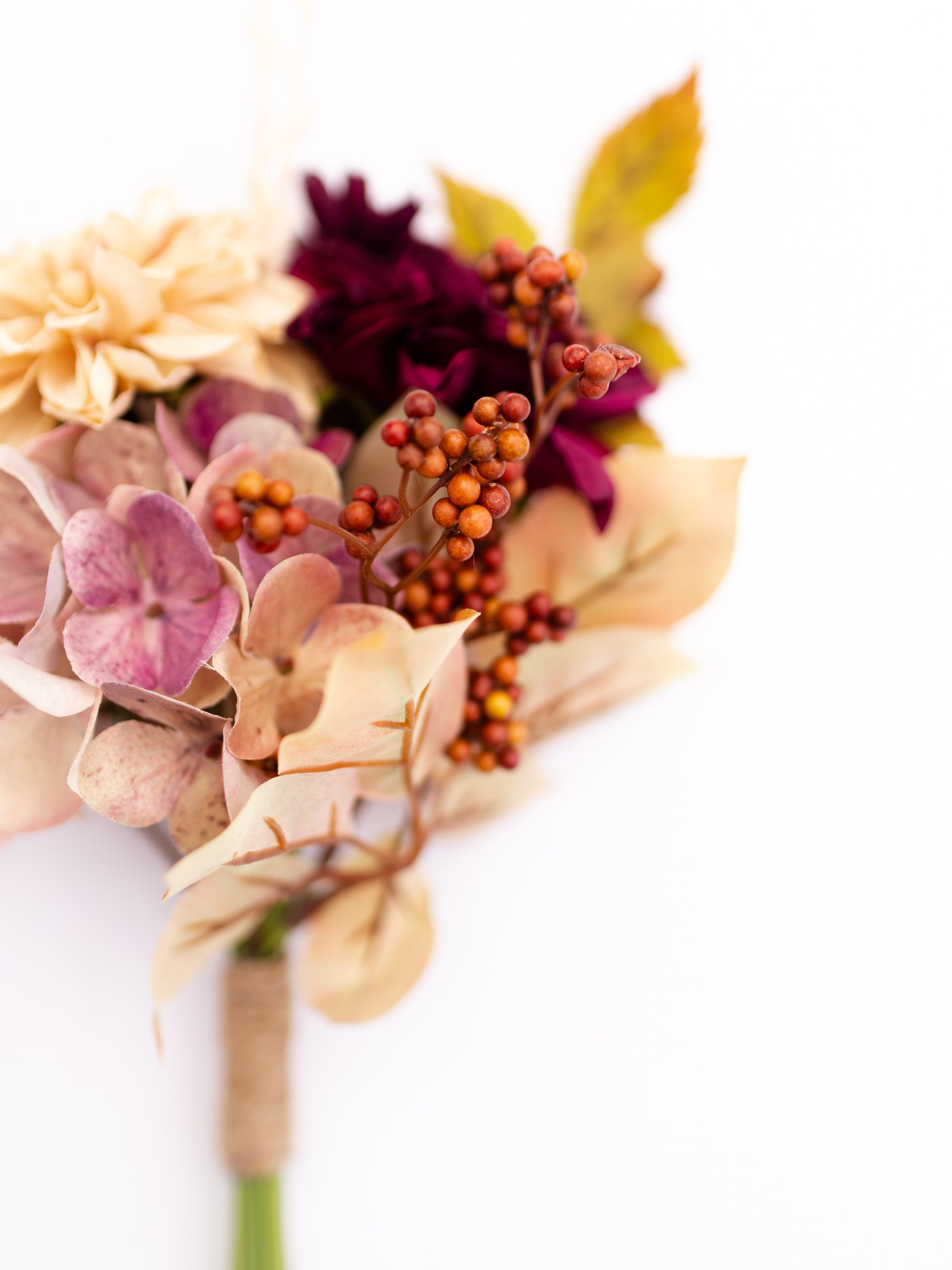 Dahlia and Hydrangea Market Bouquet