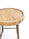 Cane Accent Stool