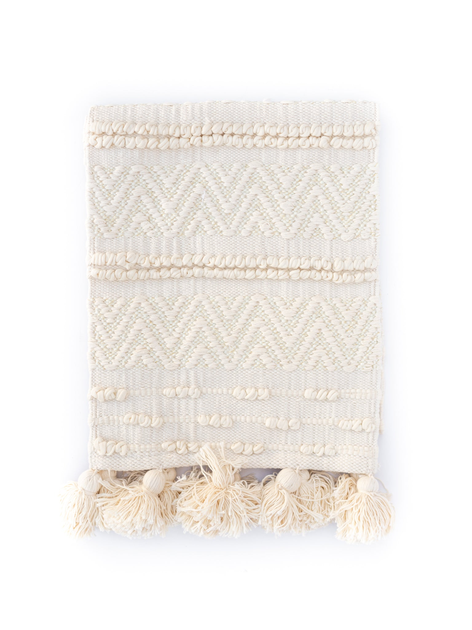 Woven Cotton Textured Runner