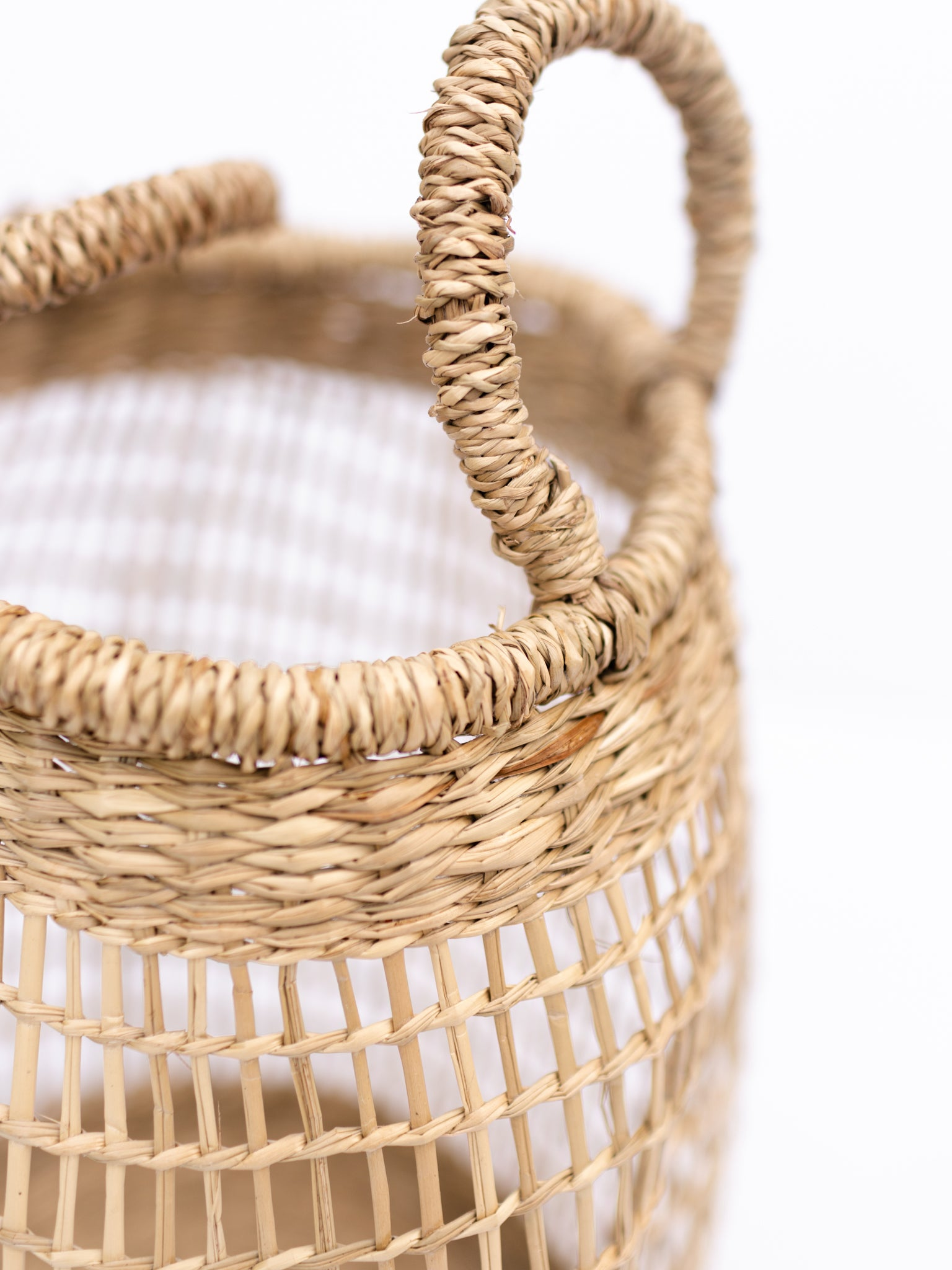 Sheer Seagrass Baskets