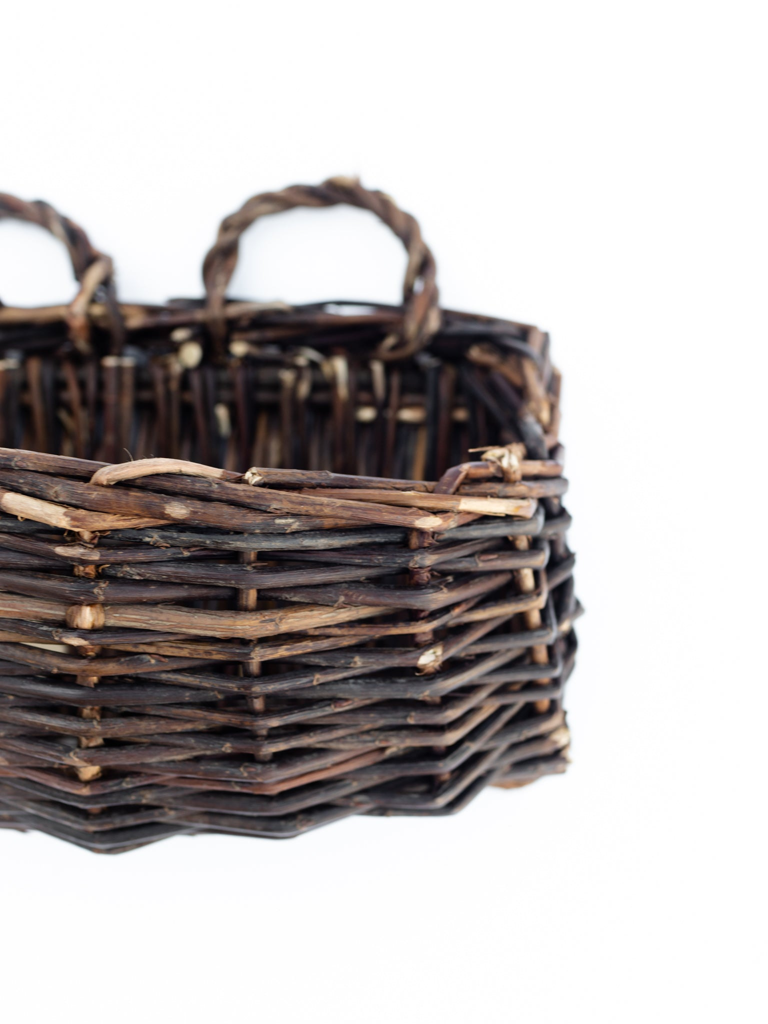 Willow Rectangle Wall Basket