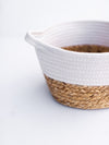 Rope and Grass Basket