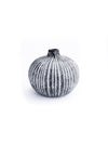 Striped Ball Vase