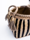 Weaved Stripe basket