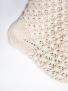 Natural Cotton Knit Stocking