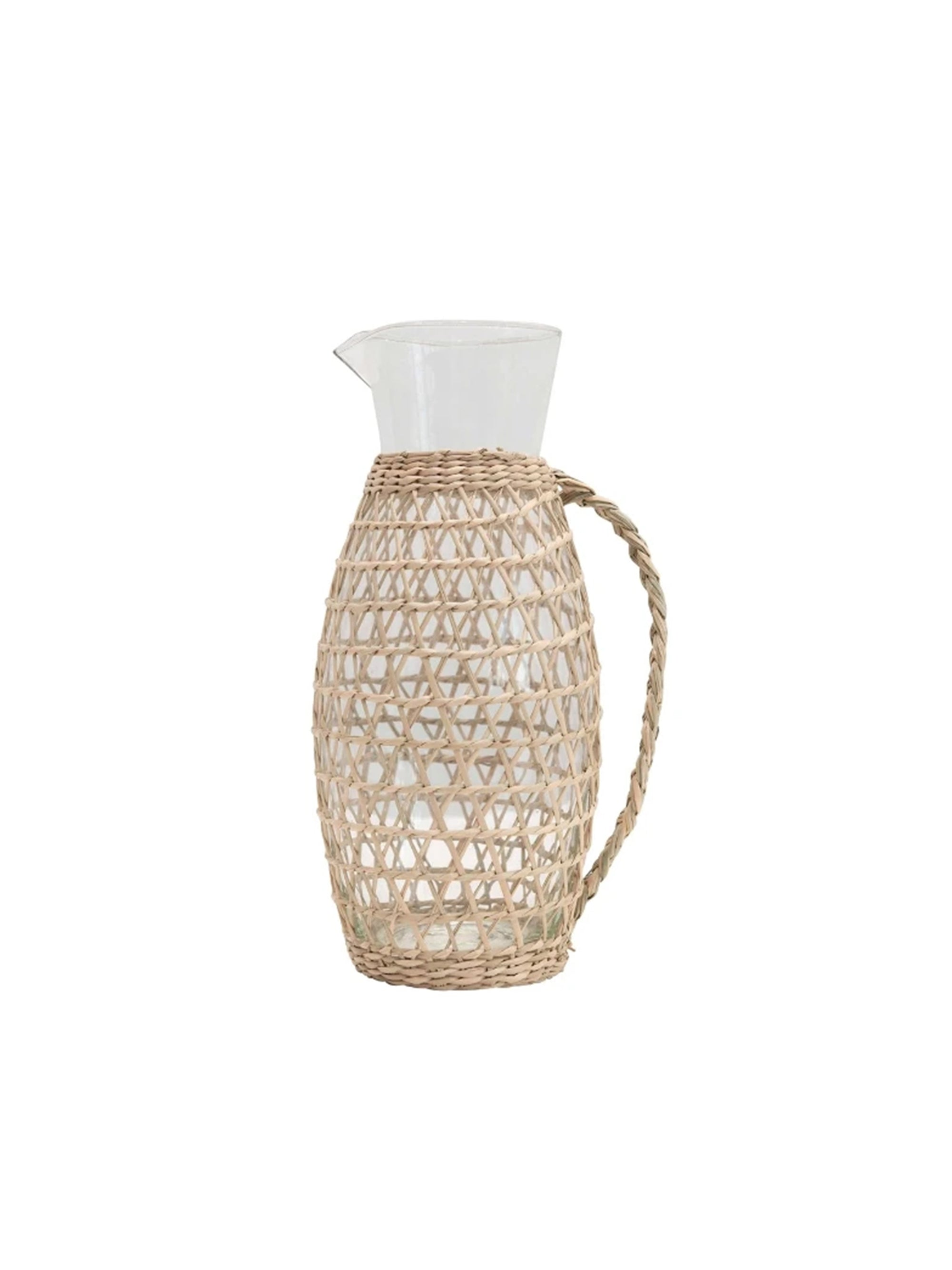 Seagrass Weave Pitcher