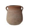 Whitewashed Terra-cotta Urn