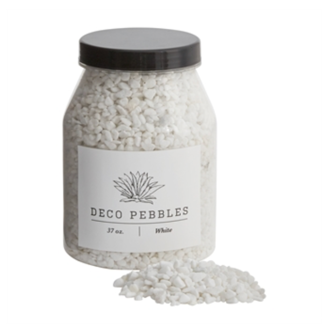 Deco Pebbles White