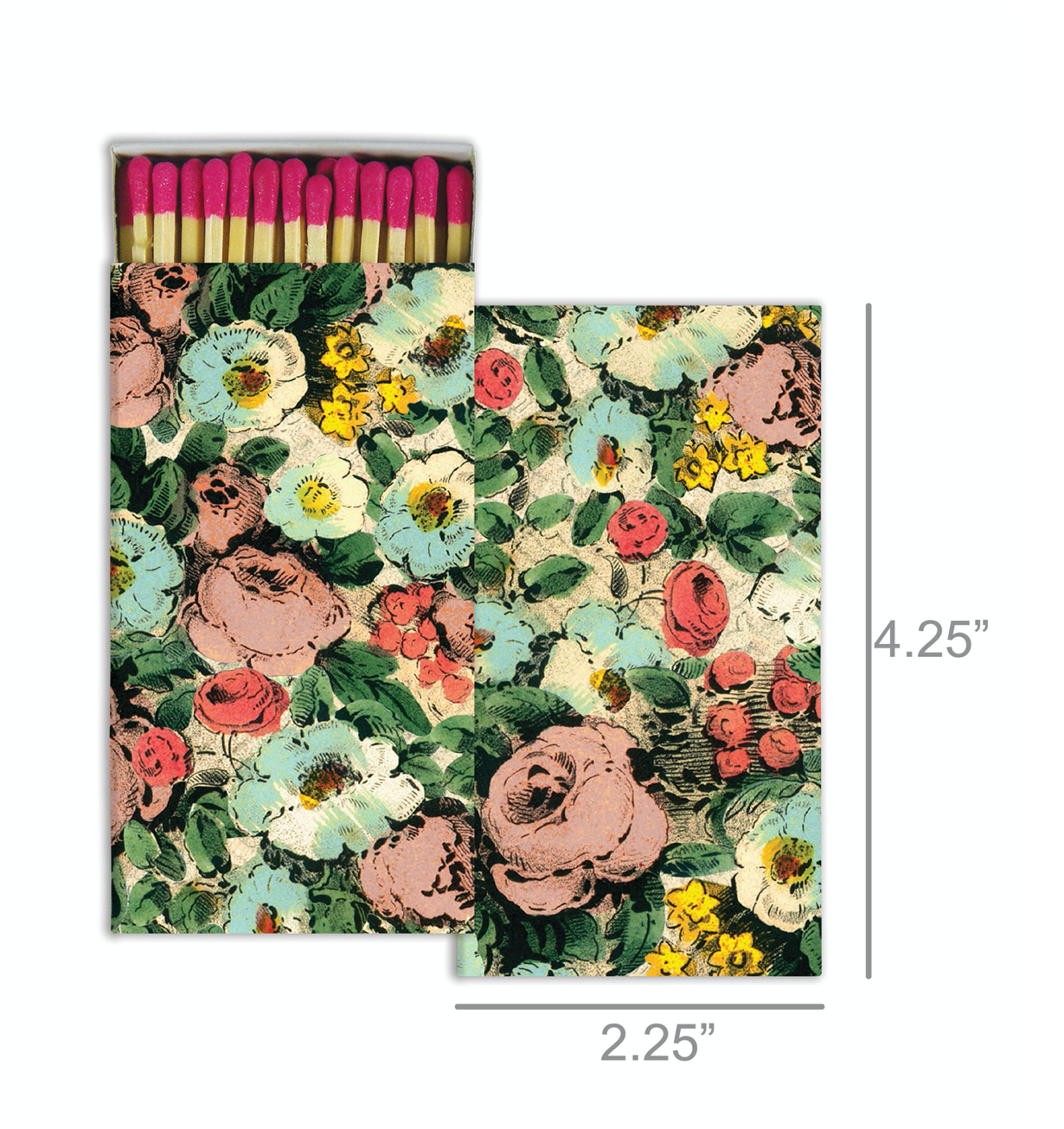Matches Floral Collage