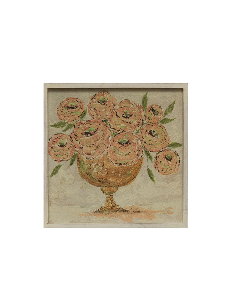 Framed Flowers in Vase