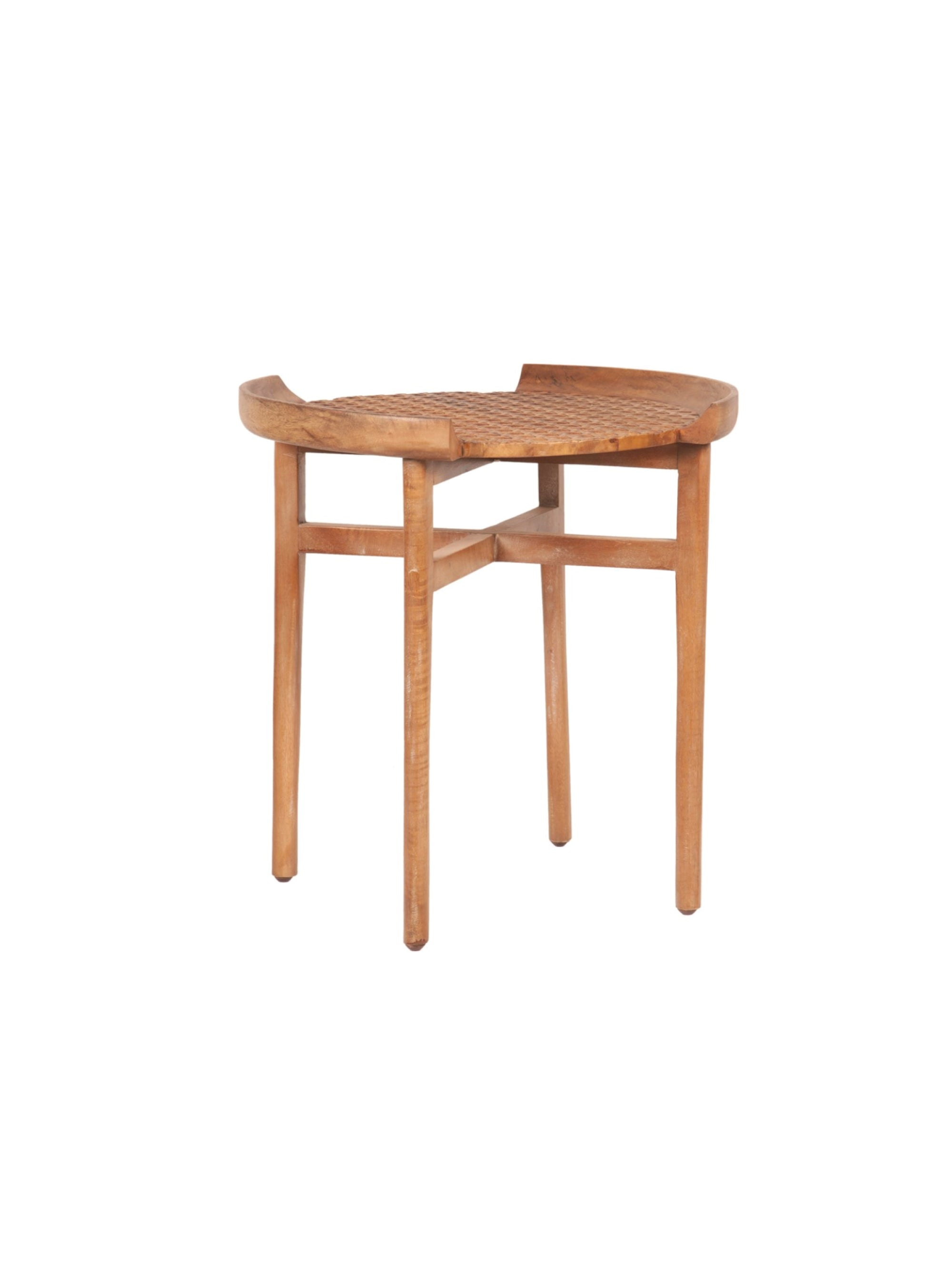 Gracie Cane Accent Table