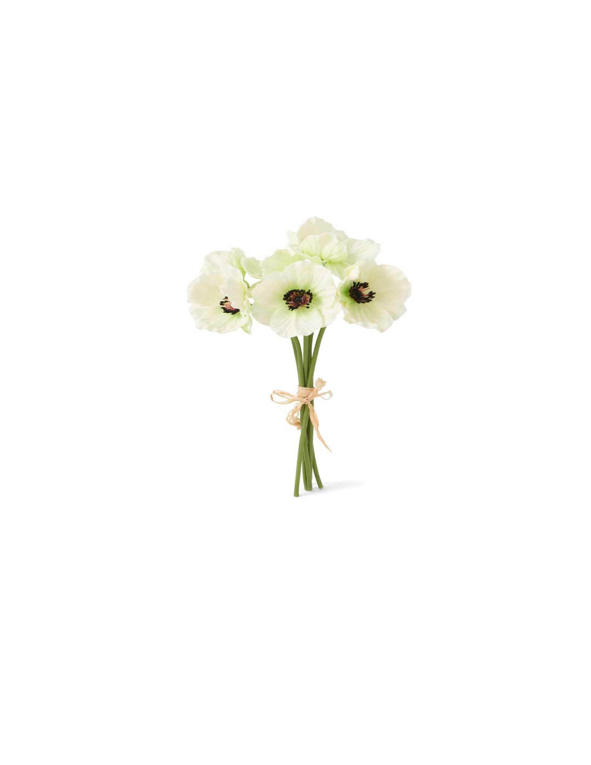 White Mini Poppy Bundle