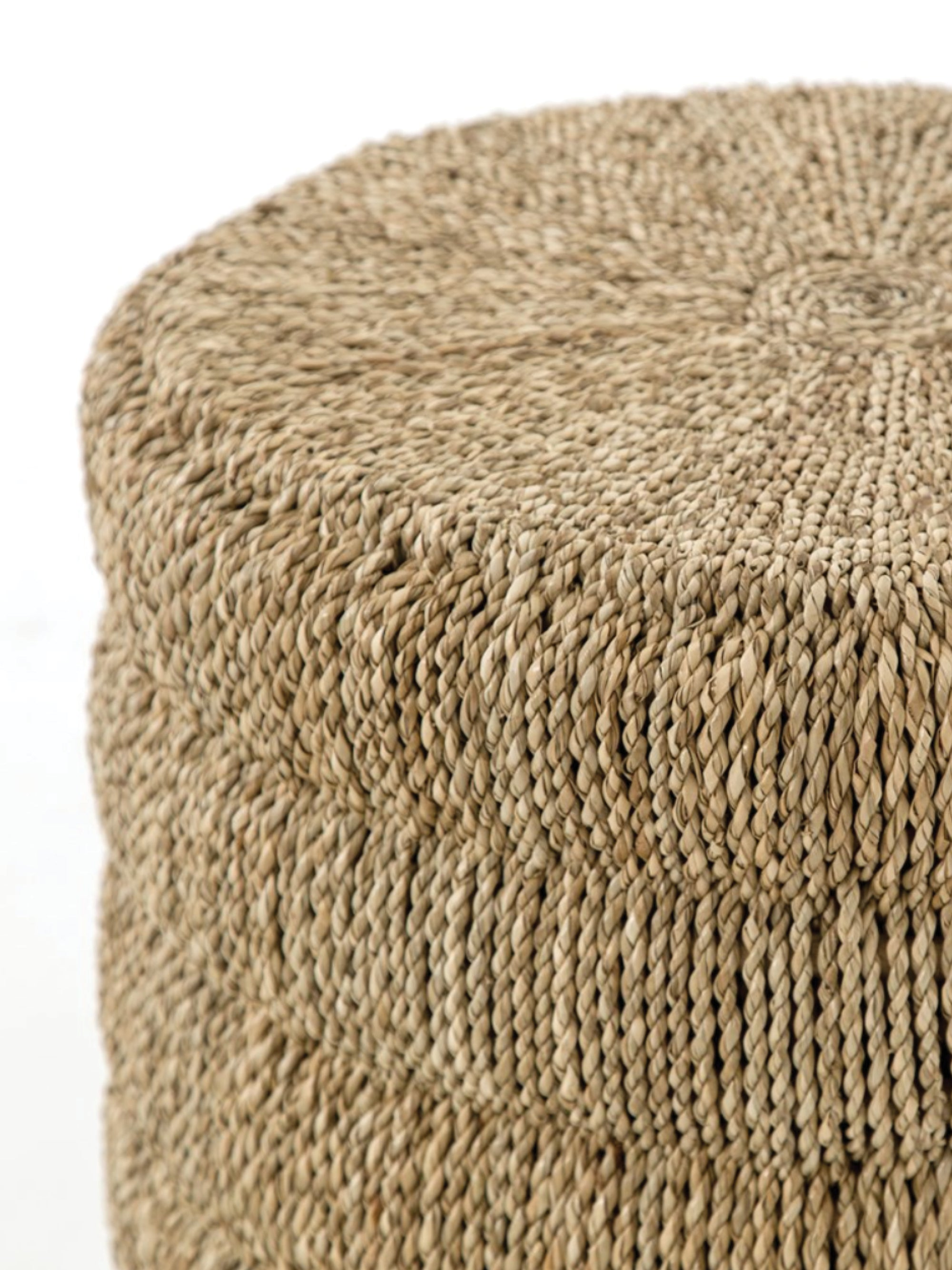 Woven End Table