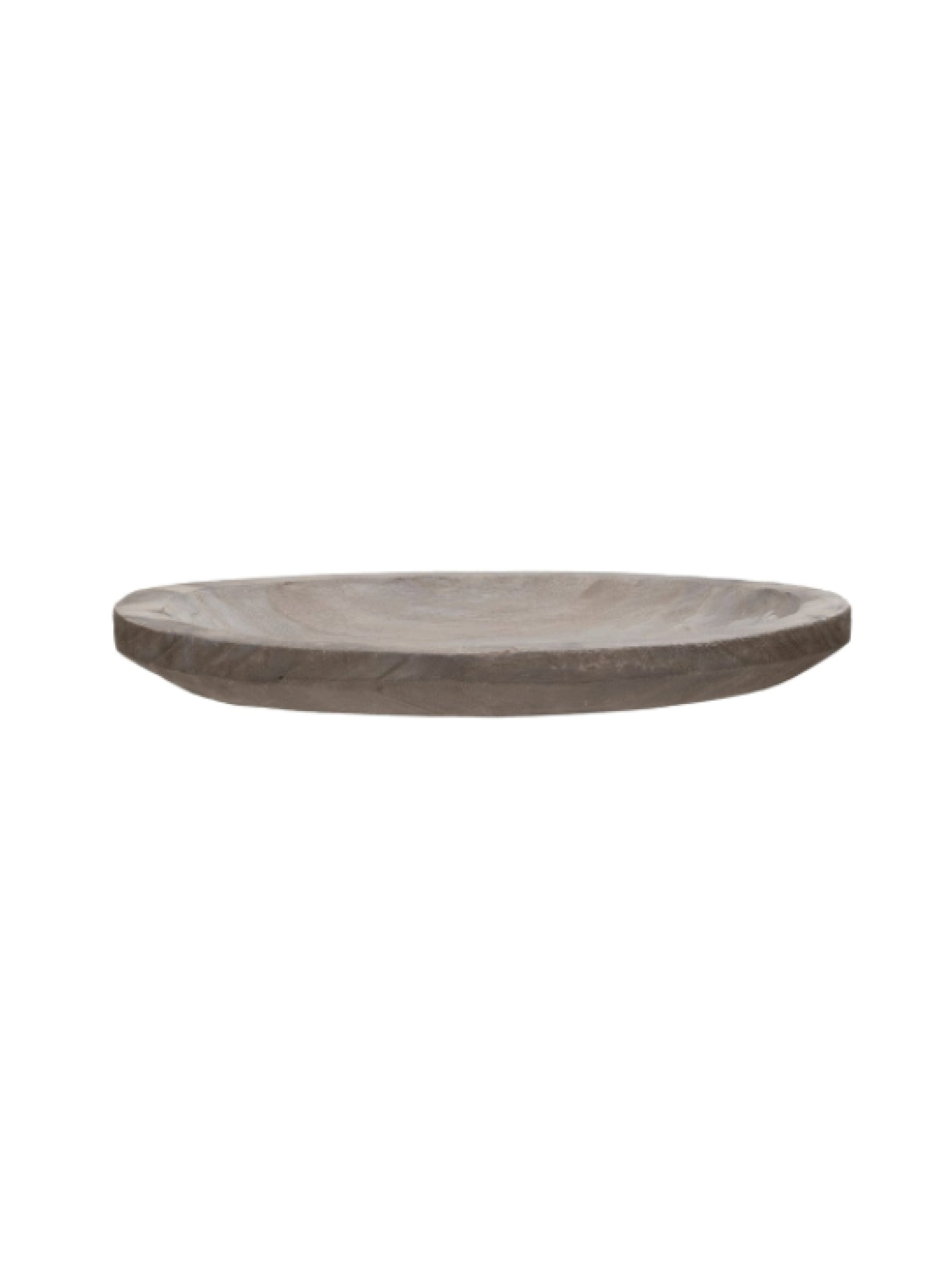 Paulownia Grey Wash Wood Tray