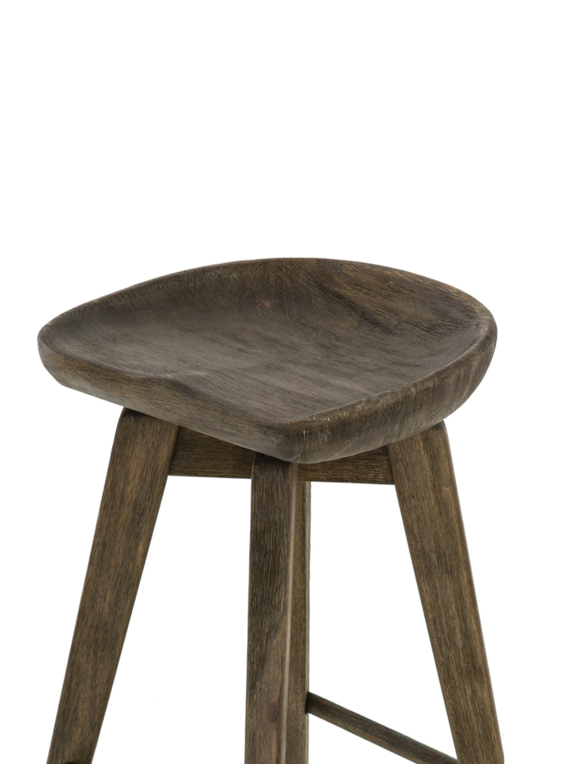 Wooden Swivel Bar + Counter Stool