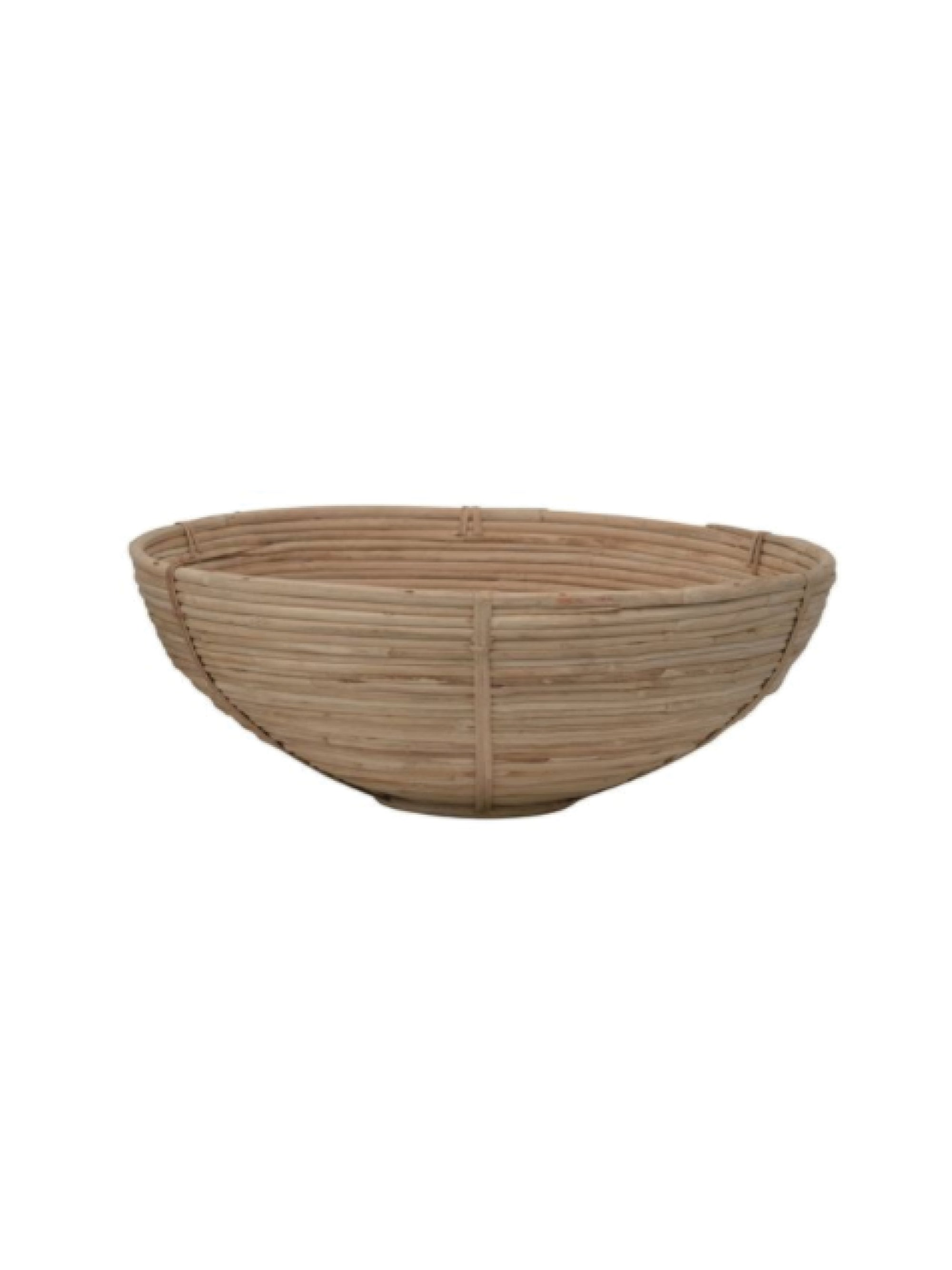 Decorative Hand-Woven Cane Bowls