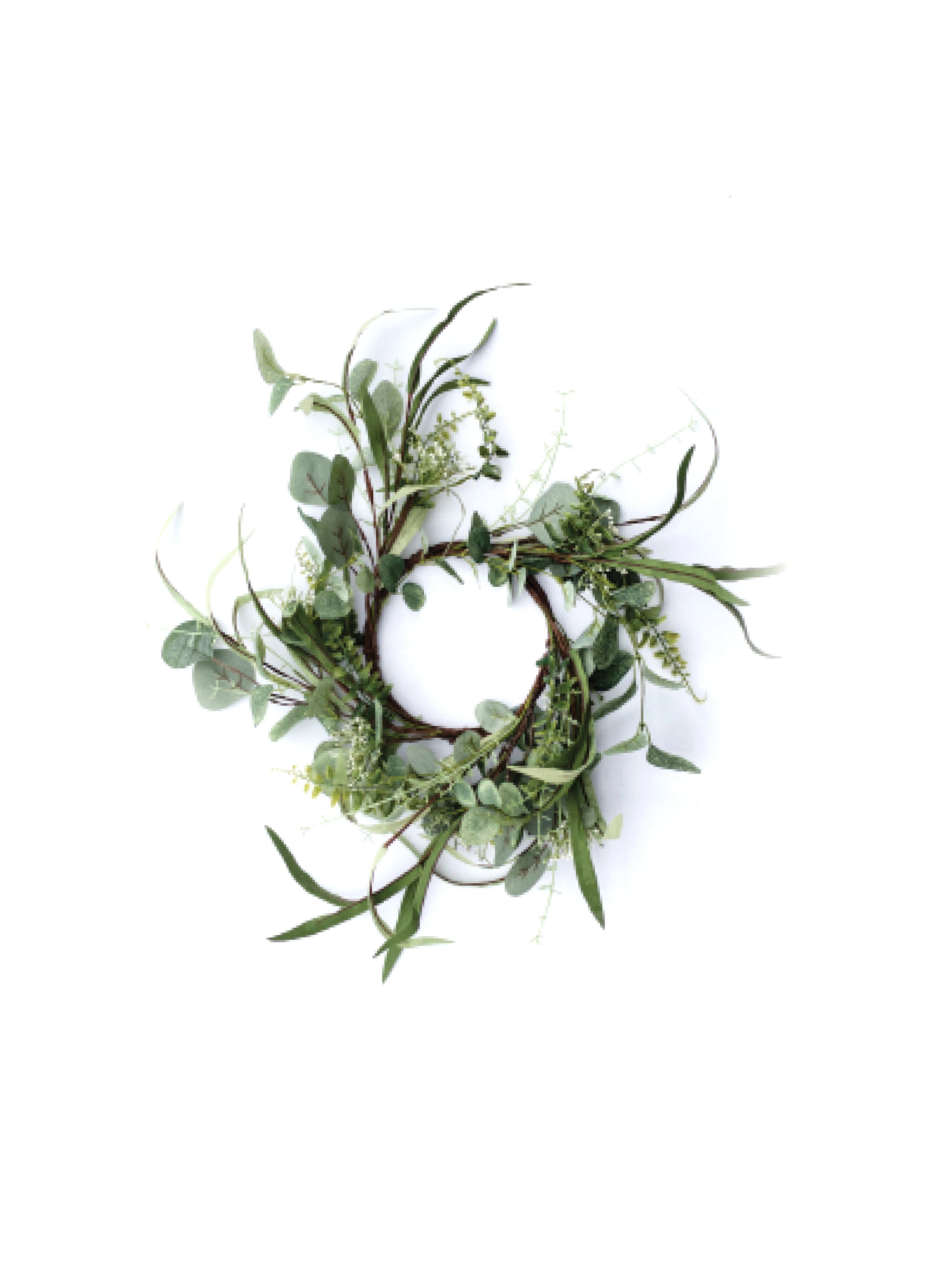 Whimsical Eucalyptus Wreath