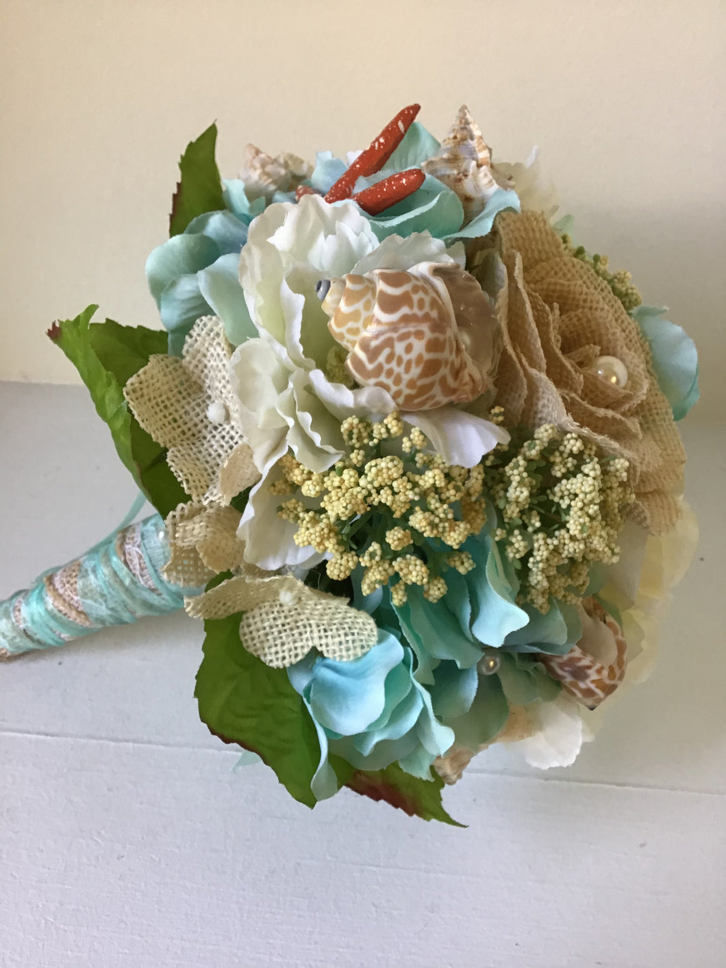 "The ""Mermaid"" Beach Bridesmaid Bouquet"