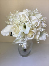 "The ""Grace"" Rose and Calla Lily Bridal Bouquet"