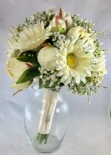 "The ""Gabrielle"" Gerbera Daisy and Peony Bridal Bouquet"