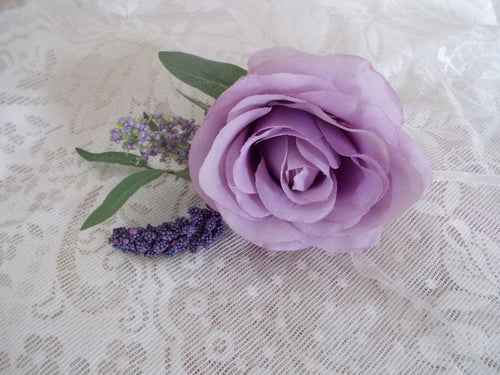Lilac corsage