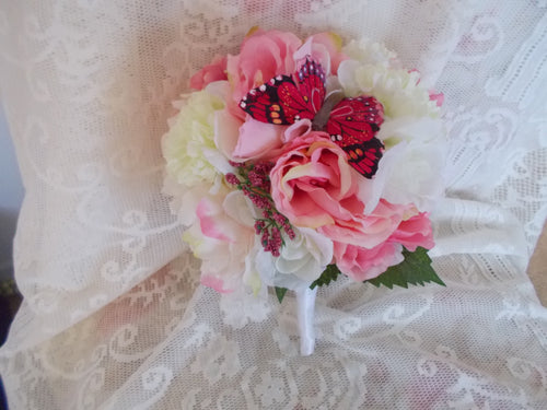 Pink and White Garden wedding Package