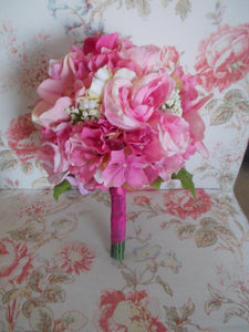 Shades of Pink wedding flower Package