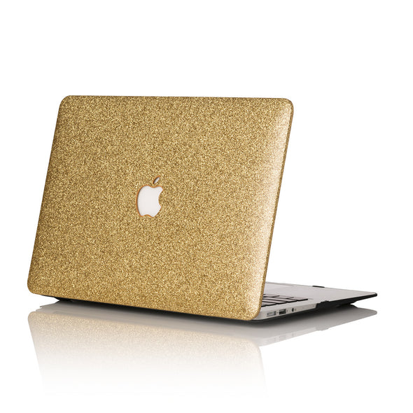 14k Gold Glitter MacBook Case
