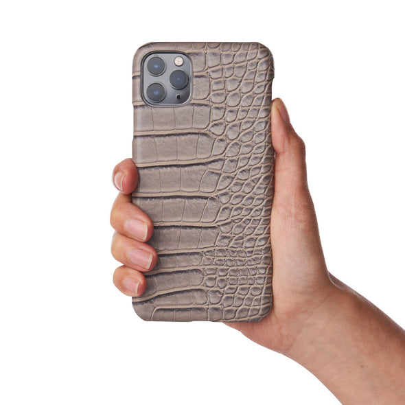 Greyson Faux Crocodile iPhone Case