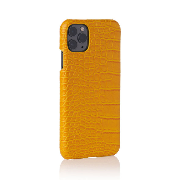 Canary Faux Crocodile iPhone Case