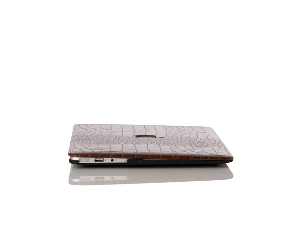 Bourbon Faux Crocodile MacBook Case