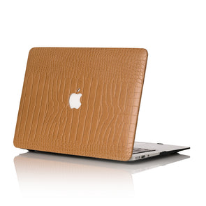 Butterscotch Faux Crocodile MacBook Case
