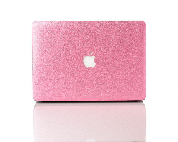 Petal Glitter MacBook Case