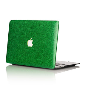 Emerald Glitter MacBook Case