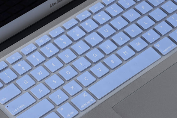 Baby Blue Keyboard Cover