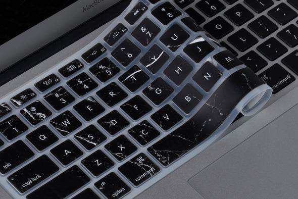 Black Marble Keyboard Cover