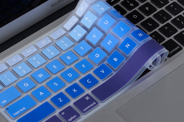 Blue Ombre Keyboard Cover