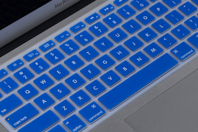 Blue Keyboard Cover