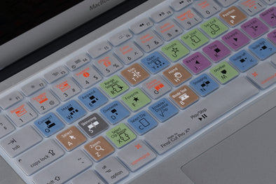 Final Cut Pro X Shortcuts Keyboard Cover