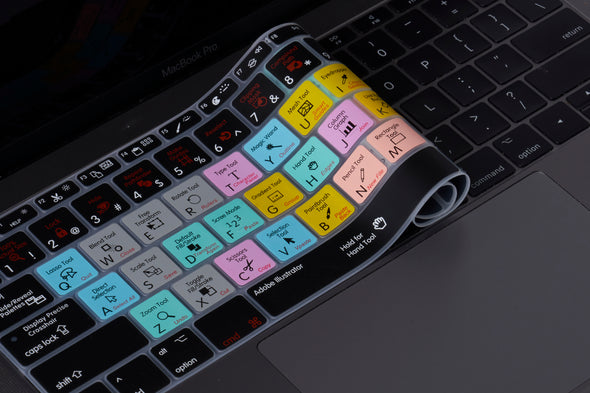 Adobe Illustrator Shortcuts Keyboard Cover